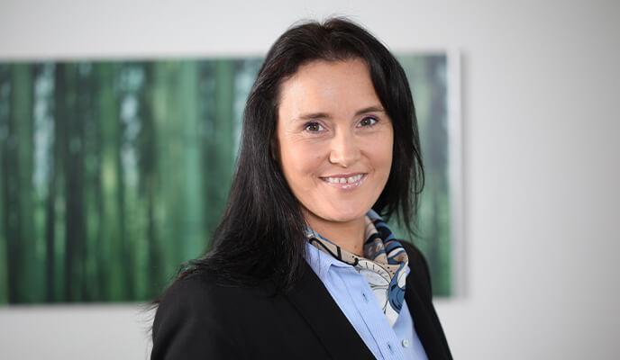 Ansprechpartnerin Sabine Lensch von einstein² Immobilien GmbH - Ihr Immobilienmakler für Karlsruhe und Umgebung